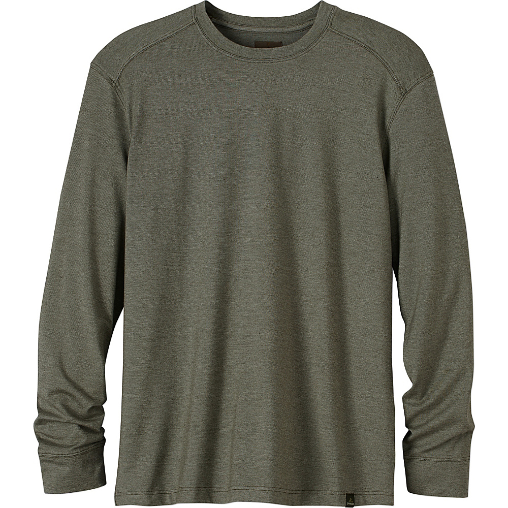 PrAna Decco Crew S - Cargo Green - PrAna Mens Apparel - Apparel & Footwear, Men's Apparel