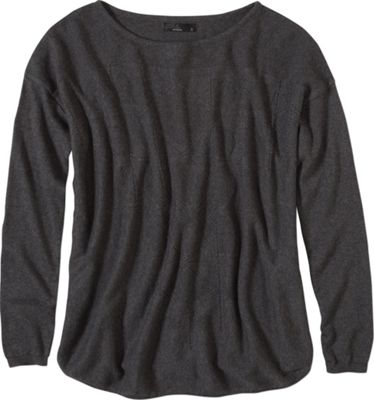 PrAna Stacia Sweater L - Charcoal - PrAna Women's Apparel