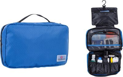 Suvelle Hanging Toiletry Travel Kit Organizer Blue - Suvelle Toiletry Kits
