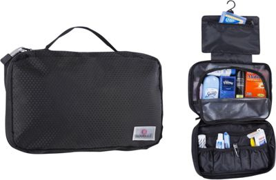 Suvelle Hanging Toiletry Travel Kit Organizer Black - Suvelle Toiletry Kits