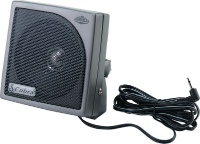 Cobra Cobra HG-S100 HighGear Dynamic External CB Speaker Black - Cobra Car Travel