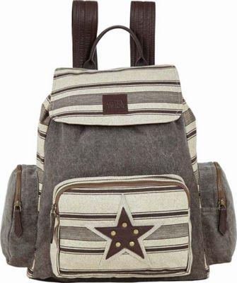 Bella Taylor Rucksack Tan - Bella Taylor Fabric Handbags