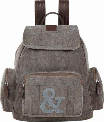 Bella Taylor Rucksack Brown - Bella Taylor Fabric Handbags