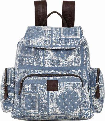 Bella Taylor Rucksack Blue - Bella Taylor Fabric Handbags