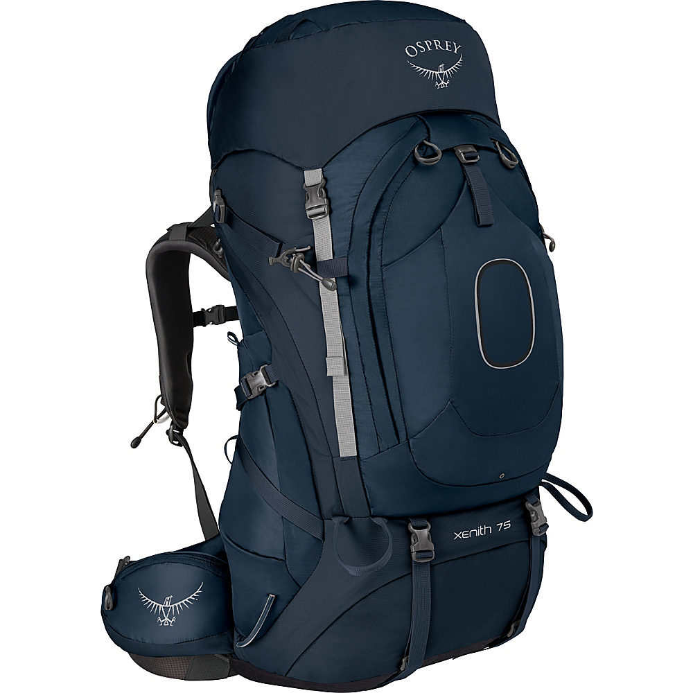 Osprey Xenith 75 Backpack Discovery Blue – MD - Osprey Backpacking Packs - Outdoor, Backpacking Packs