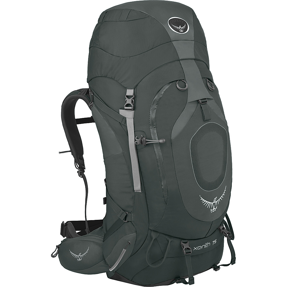 Osprey Xenith 75 Backpack Graphite Grey - MD - Osprey Backpacking Packs - Outdoor, Backpacking Packs