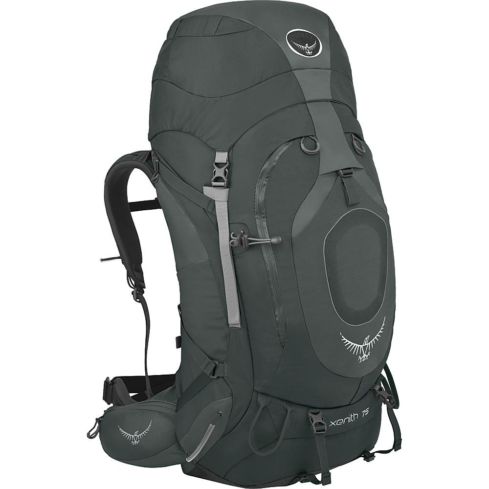 Osprey Xenith 75 Backpack Graphite Grey - XL - Osprey Backpacking Packs - Outdoor, Backpacking Packs