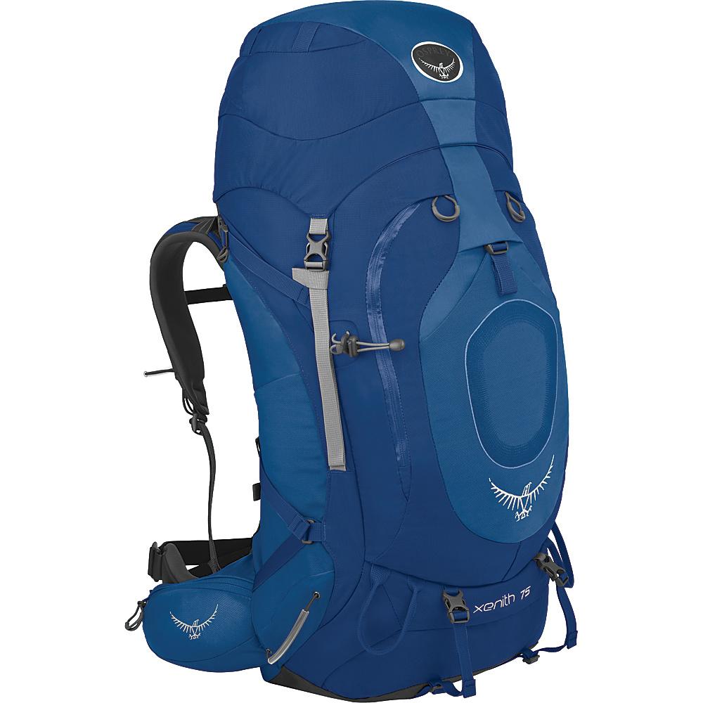 Osprey Xenith 75 Backpack Mediterranean Blue - XL - Osprey Backpacking Packs - Outdoor, Backpacking Packs