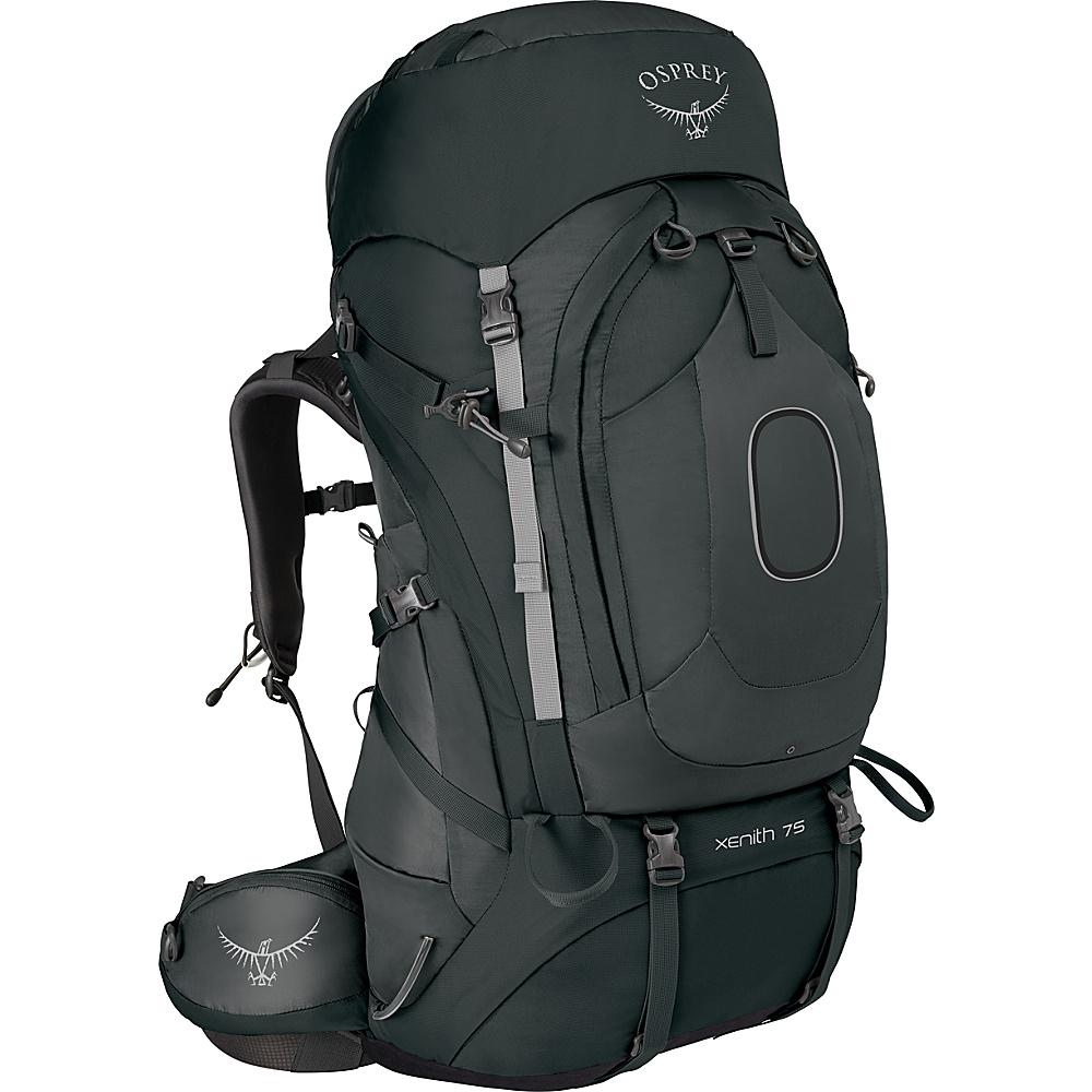 Osprey Xenith 75 Backpack Tektite Grey – XL - Osprey Backpacking Packs - Outdoor, Backpacking Packs