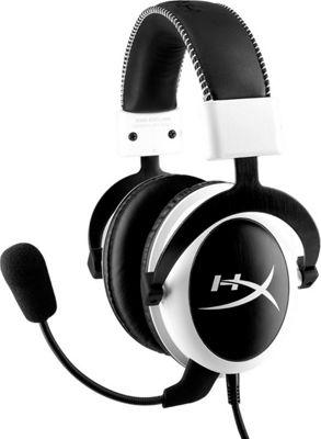 Kingston HyperX Cloud Headset with Detachable Mic White - Kingston Headphones & Speakers