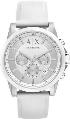 A/X Armani Exchange Active Watch White