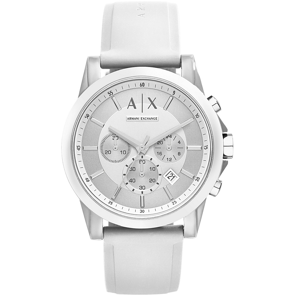 A X Armani Exchange Active Watch White White A X Armani Exchange Watches
