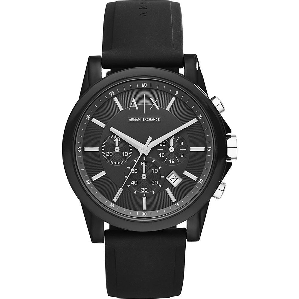 A X Armani Exchange Active Watch Black A X Armani Exchange Watches