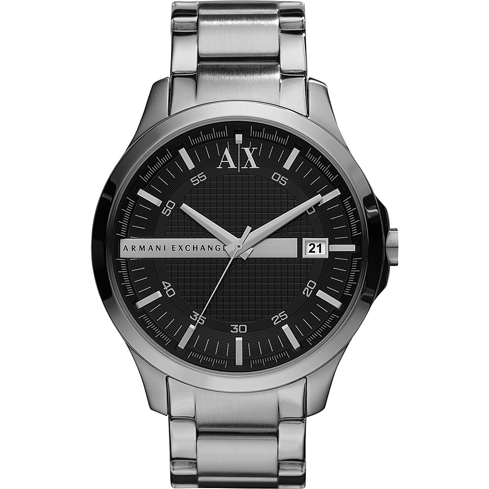 A X Armani Exchange Smart Stainless Steel Watch Silver A X Armani Exchange Watches
