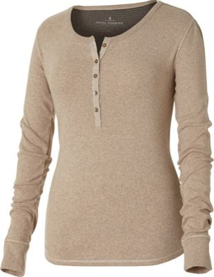 Royal Robbins Kick Back Henley L - Oatmeal - Royal Robbins Women's Apparel