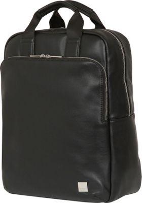 KNOMO London Brompton Classic Dale Convertible Backpack Black - KNOMO London Business & Laptop Backpacks