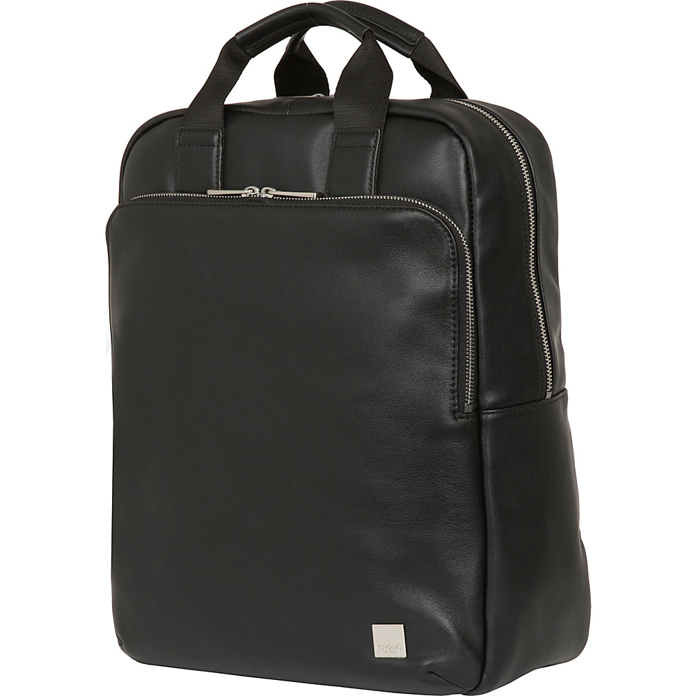 KNOMO London Brompton Classic Dale Convertible Backpack Black - KNOMO London Business & Laptop Backpacks