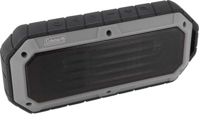Coleman SoundTrail Slim Waterproof Bluetooth Speaker Grey - Coleman Headphones & Speakers
