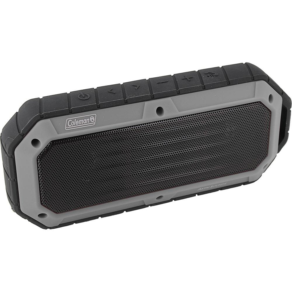 Coleman SoundTrail Slim Waterproof Bluetooth Speaker Grey Coleman Headphones Speakers