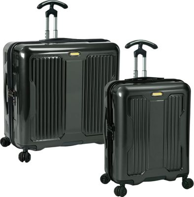 PROKAS Ultimax  2-Piece Wide Body Spinner Set Charcoal - PROKAS Luggage Sets