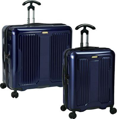 PROKAS Ultimax  2-Piece Wide Body Spinner Set Navy - PROKAS Luggage Sets