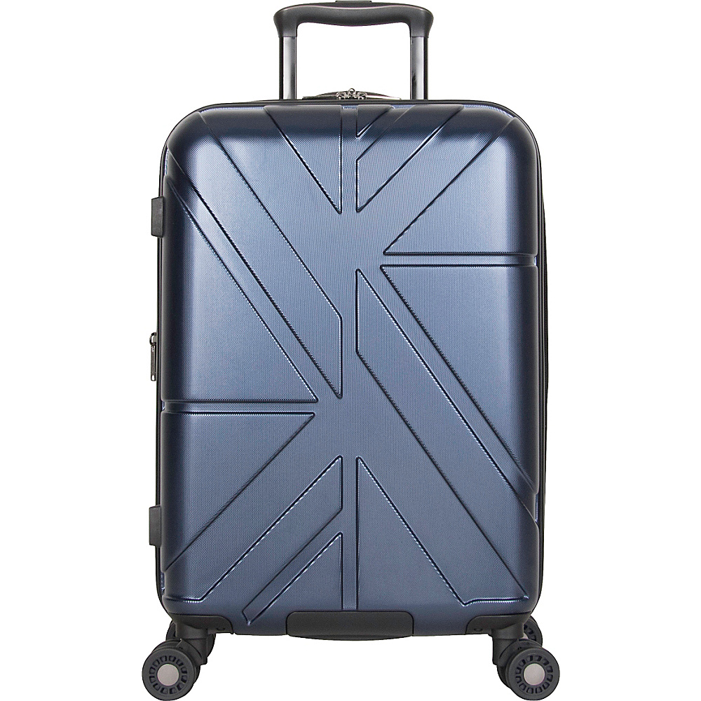 Ben Sherman Luggage Oxford Collection 20 Carry On Luggage Navy Ben Sherman Luggage Hardside Carry On