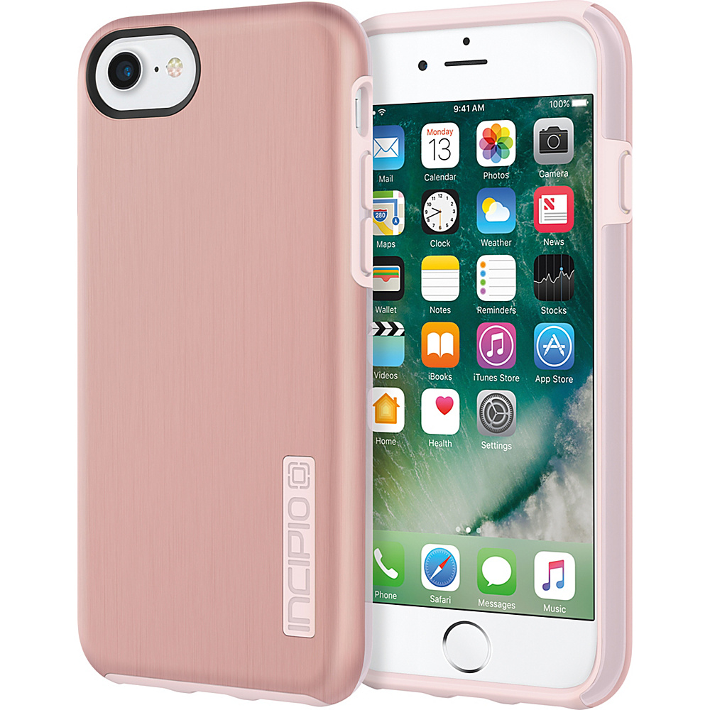 Incipio DualPro SHINE for iPhone 7 Rose Gold/Blush Pink(RGP) - Incipio Electronic Cases - Technology, Electronic Cases