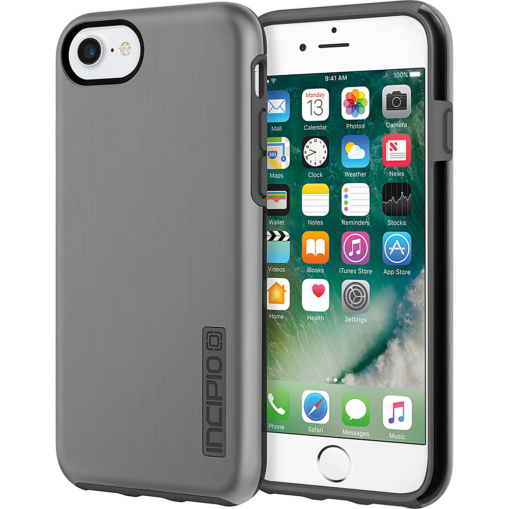 Incipio DualPro SHINE for iPhone 7 Space Gray/Charcoal(SGC) - Incipio Electronic Cases - Technology, Electronic Cases