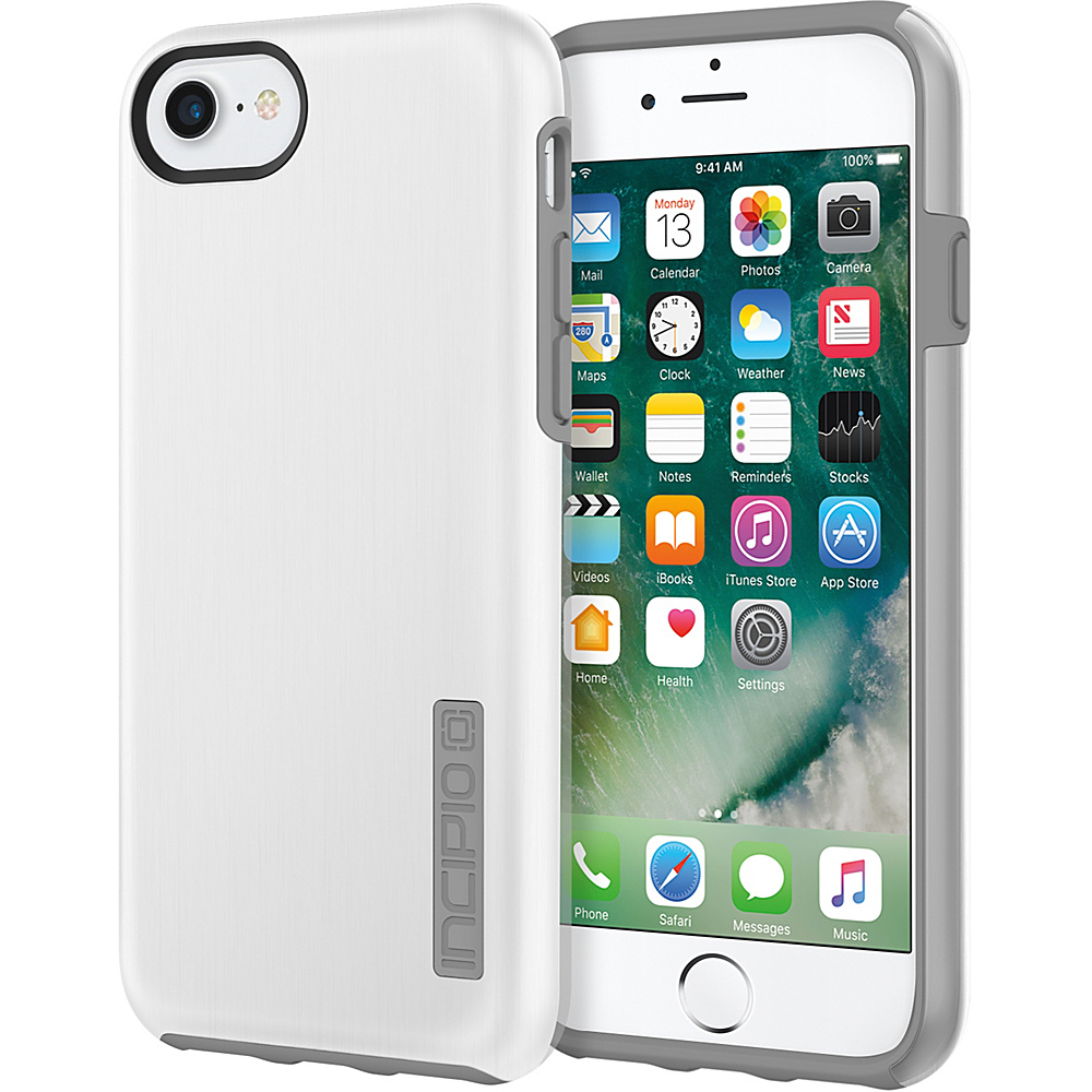 Incipio DualPro SHINE for iPhone 7 White/Gray(WGY) - Incipio Electronic Cases - Technology, Electronic Cases