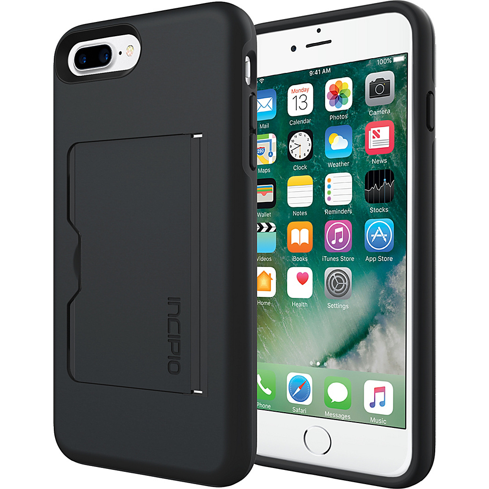 Incipio Stowaway for iPhone 7 Plus Black - Incipio Electronic Cases - Technology, Electronic Cases