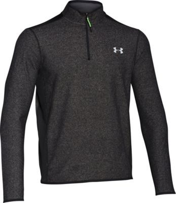 Under Armour CGI Fleece 1/4 Zip S - Black/Black/Steel - Under Armour Men's Apparel 10493082