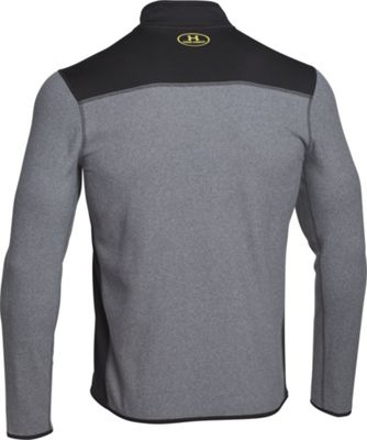 Under Armour CGI Fleece 1/4 Zip S - Black/Black/Steel - Under Armour Men's Apparel