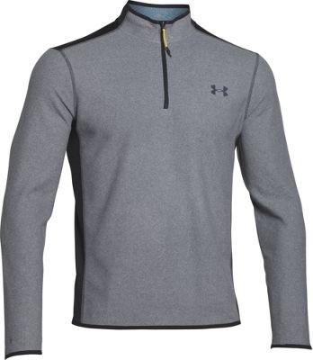 Under Armour CGI Fleece 1/4 Zip S - Steel/Black/Black - Under Armour Men's Apparel