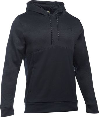 Under Armour Mens Storm AF Icon Twist Hoodie S - Black - Under Armour Men's Apparel