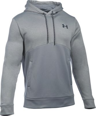 Under Armour Mens Storm AF Icon Twist Hoodie L - Steel/Steel/Stealth Gray - Under Armour Men's Apparel