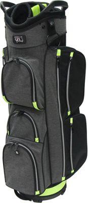 RJ Golf True Cart Bag Black Grey - RJ Golf Golf Bags