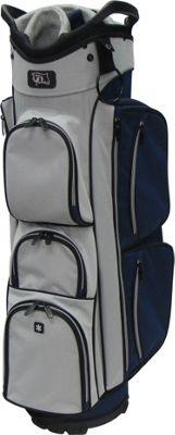 RJ Golf True Cart Bag Navy/Grey - RJ Golf Golf Bags