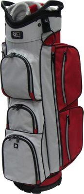 RJ Golf True Cart Bag Red/Grey - RJ Golf Golf Bags