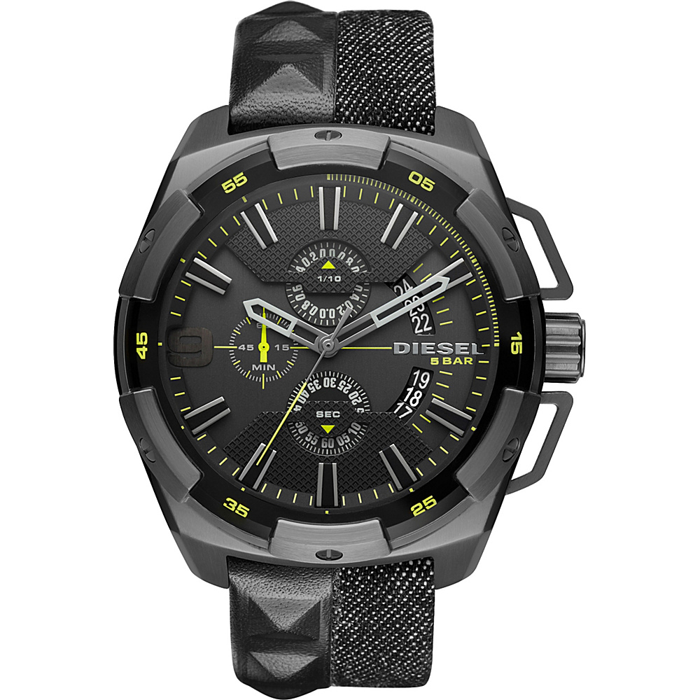 Diesel Watches Heavy Weight Denim Watch Black Diesel Watches Watches