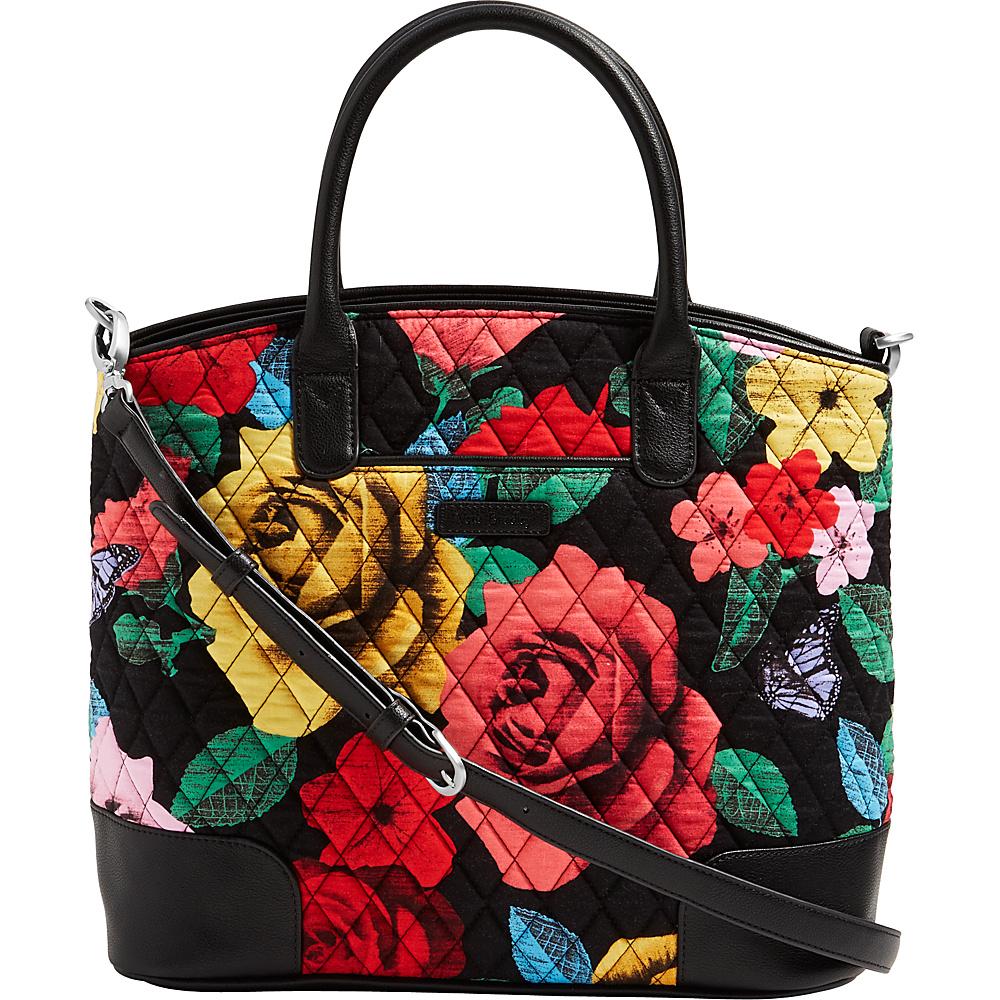 Vera Bradley Day Off Satchel Havana Rose - Vera Bradley Fabric Handbags - Handbags, Fabric Handbags