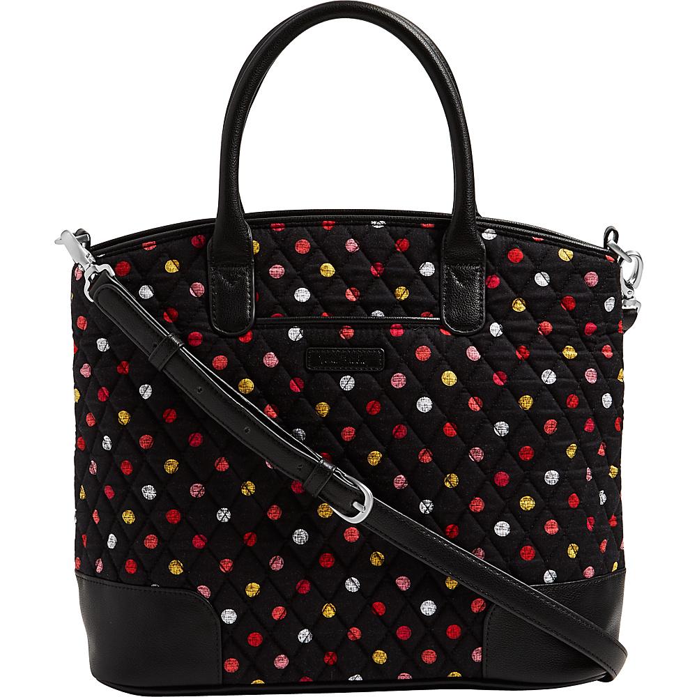 Vera Bradley Day Off Satchel Havana Dots - Vera Bradley Fabric Handbags - Handbags, Fabric Handbags