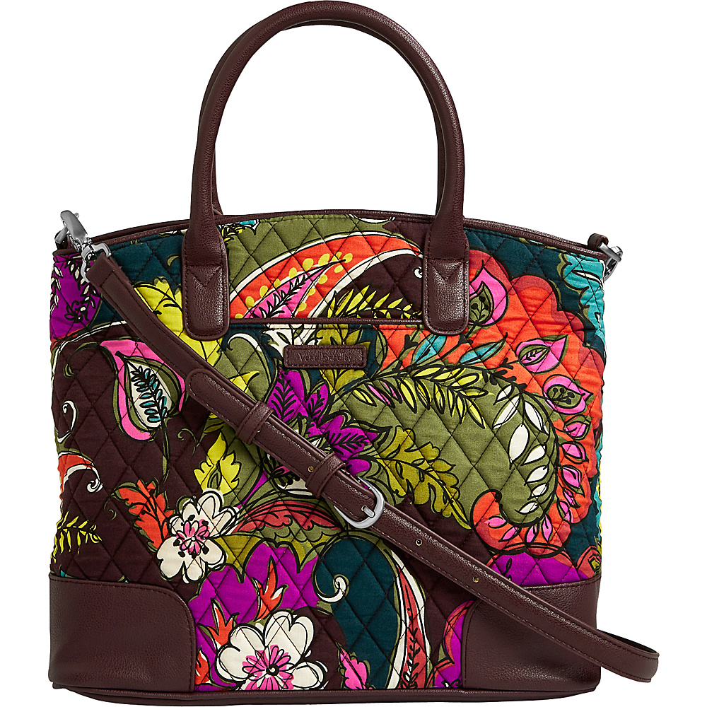 Vera Bradley Day Off Satchel Autumn Leaves - Vera Bradley Fabric Handbags - Handbags, Fabric Handbags