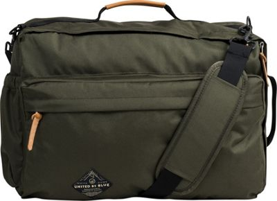 United by Blue Basin Convertible Messenger Pack Olive - United by Blue Messenger Bags