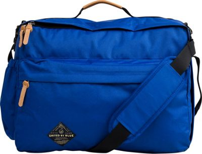 United by Blue Basin Convertible Messenger Pack Blueprint - United by Blue Messenger Bags