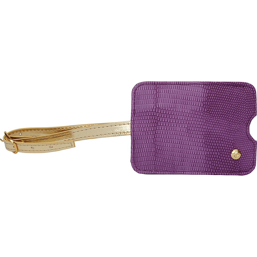Stephanie Johnson Galapagos Luggage Tag Deep Orchid Stephanie Johnson Luggage Accessories