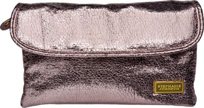 Stephanie Johnson Tinseltown Katie Folding Cosmetic Bag Gunmetal - Stephanie Johnson Women's SLG Other