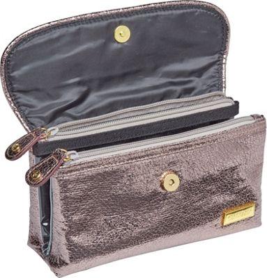 Stephanie Johnson Tinseltown Katie Folding Cosmetic Bag Gunmetal - Stephanie Johnson Women's SLG Other