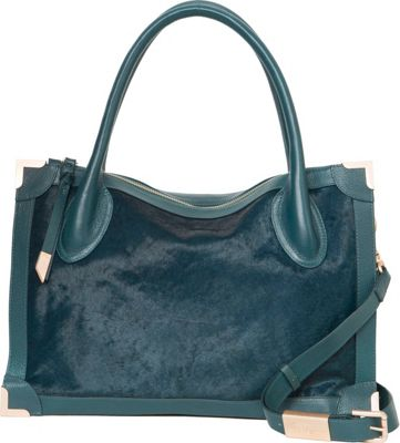 Foley + Corinna Frankie Satchel Peacock - Foley + Corinna Designer Handbags