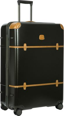 BRIC'S Bellagio 2.0 32 inch Spinner Trunk Olive - BRIC'S Hardside Checked