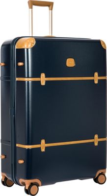 BRIC'S Bellagio 2.0 32 inch Spinner Trunk Blue - BRIC'S Hardside Checked